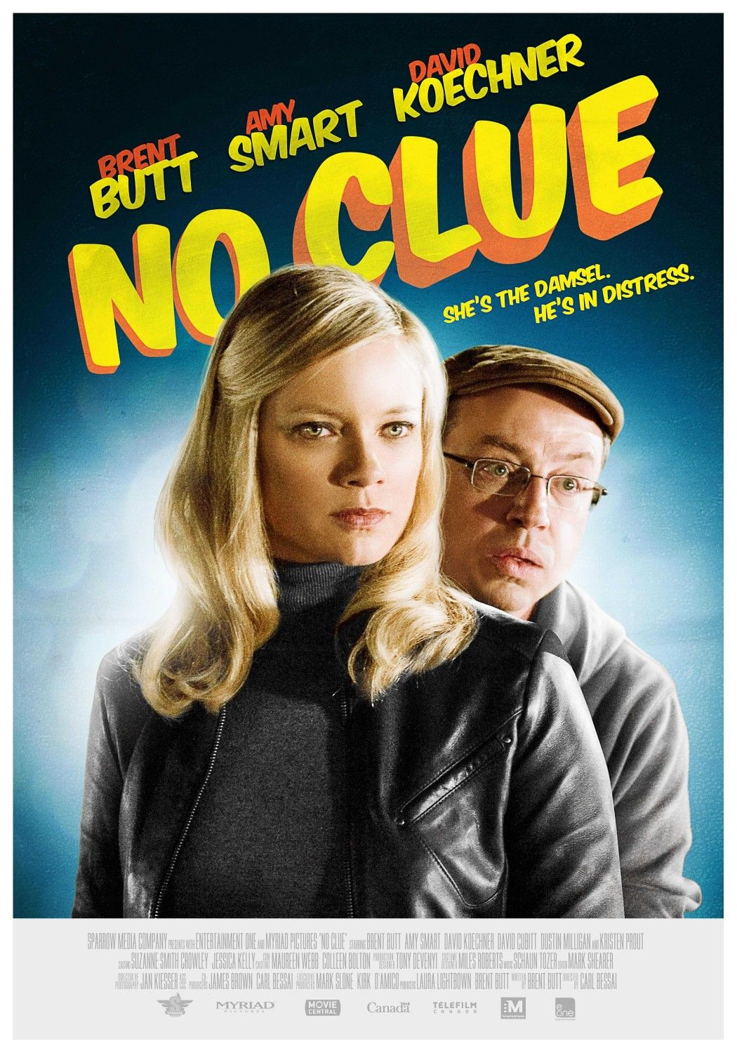 Extra Large Movie Poster Image For No Clue Clue Movie Latest