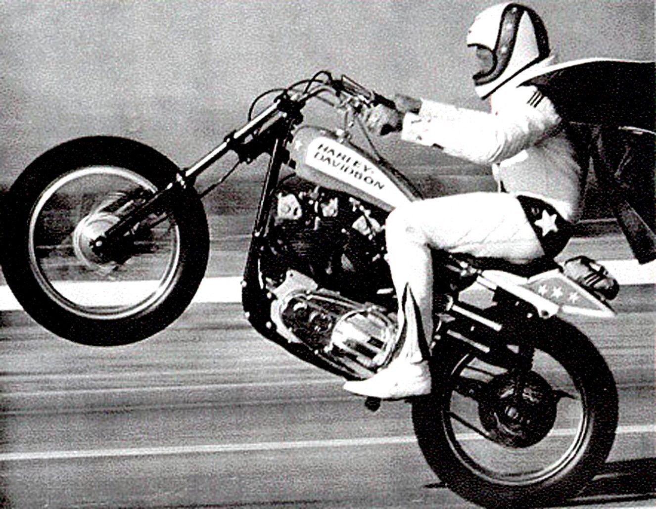 3 25 bitchin 1970s evel knievel high speed wheelie harley davidson sticker ebay