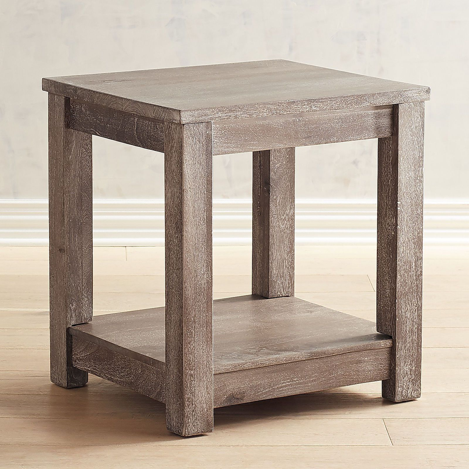 Parsons Truffle Gray End Table Pier 1 Imports End Tables