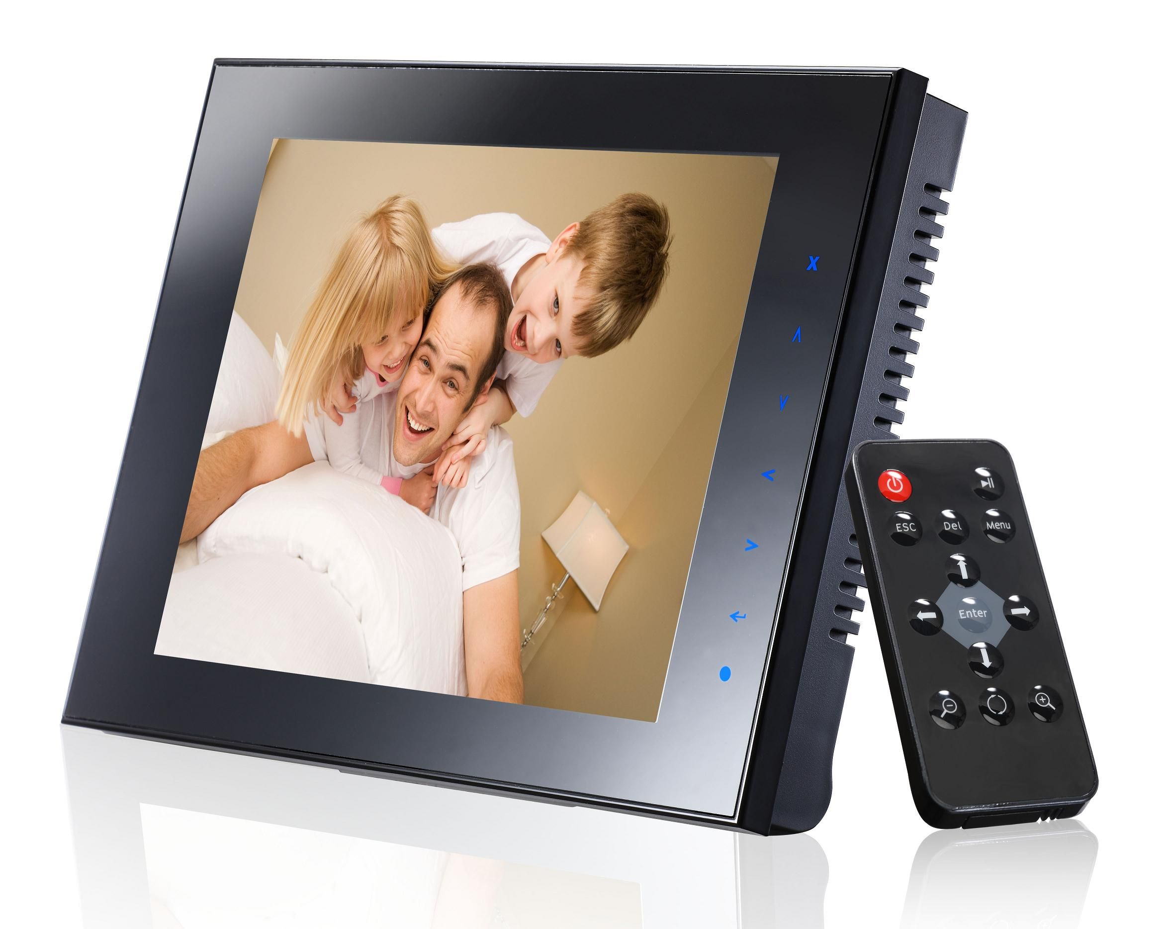 v4 electronic offer the best large digital photo frame with competitve price remote sounder pinterest digital photo frame - Electronic Photo Frame