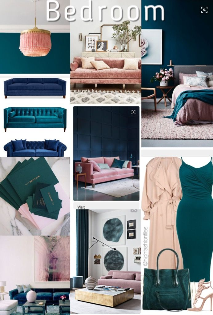 Herrrrrrree Is A Collage Of Photos Showing Off My Bedroom Color