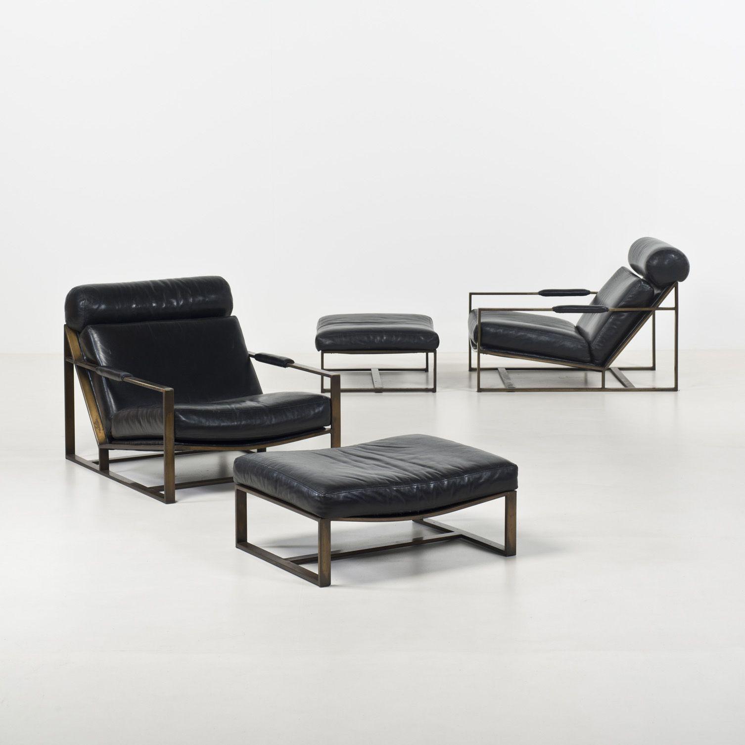 Milo Baughman for Thayer Coggin Reclining chairs 1963 ...