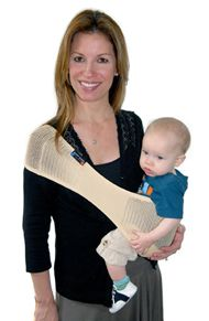 E Suppori Baby Light Weight Carrier Sling Infant//Toddler Midnight Black large