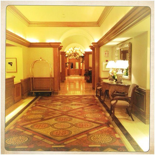 St. Regis Hotel, Houston. The Lobby.