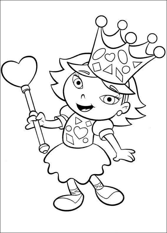 Little Einsteins Coloring Pages Disney : Little einsteins became queen coloring