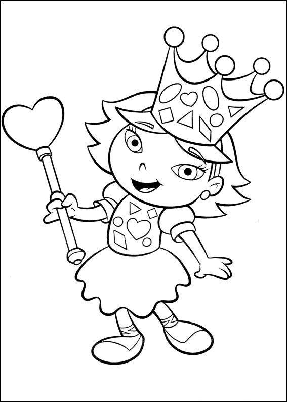 little einsteins became queen  little einsteins coloring