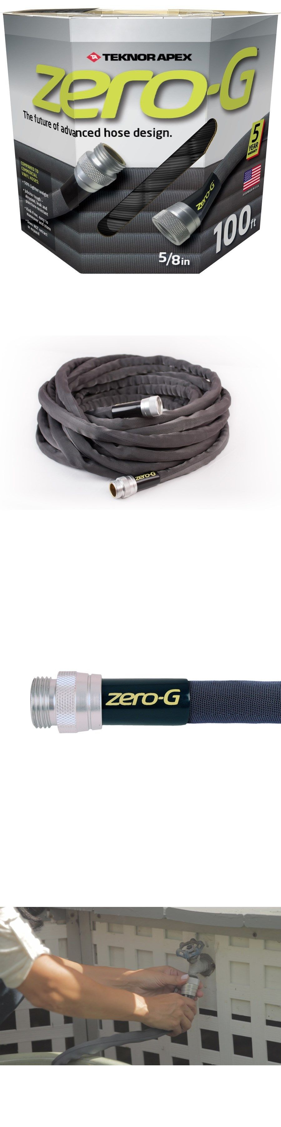 Other Watering Equipment 29522: Zero G Ultra Flexible Lightweight Kink Free  Garden Hose