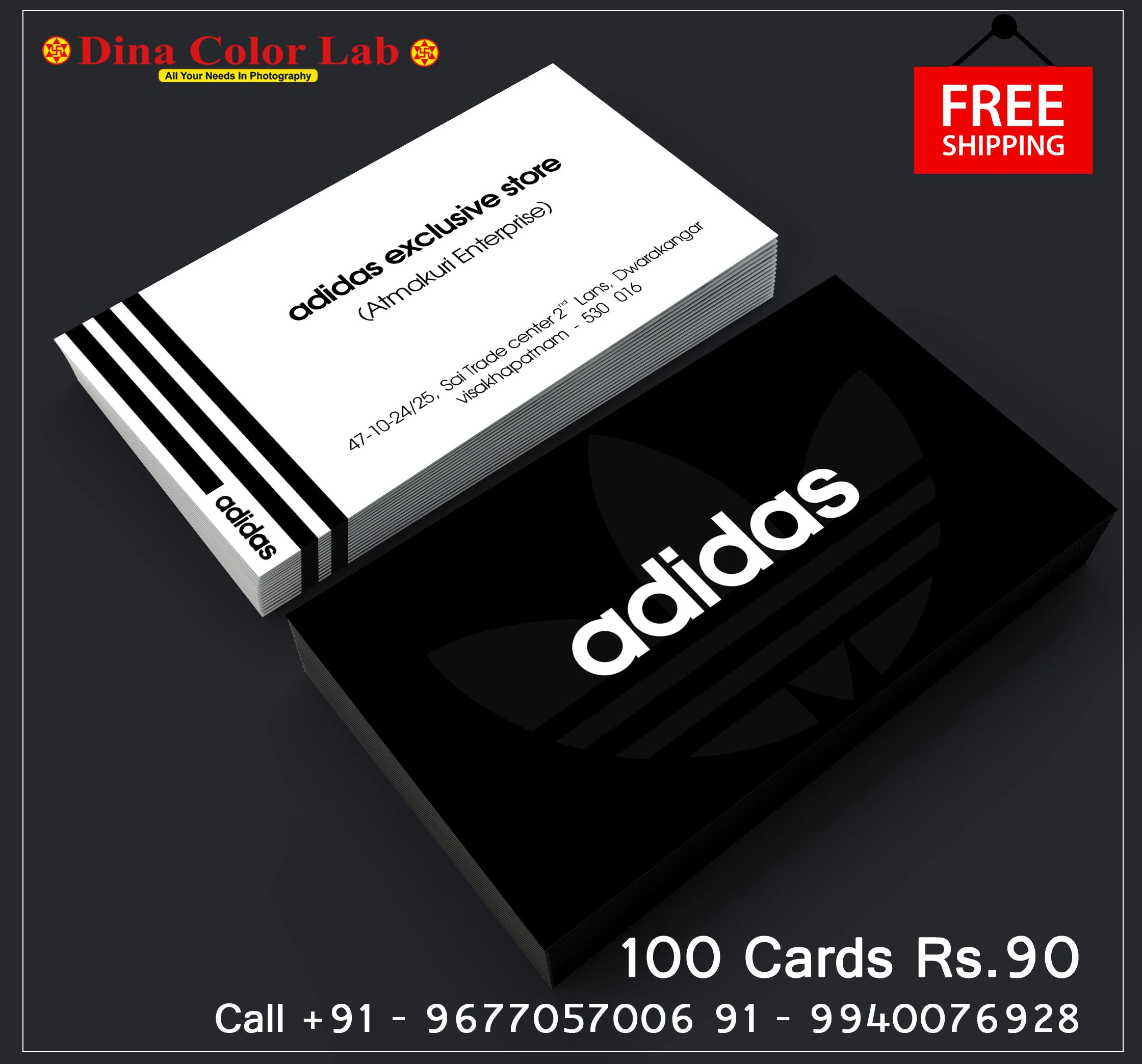 100 Business Cards At 90 Free Shipping In 2020