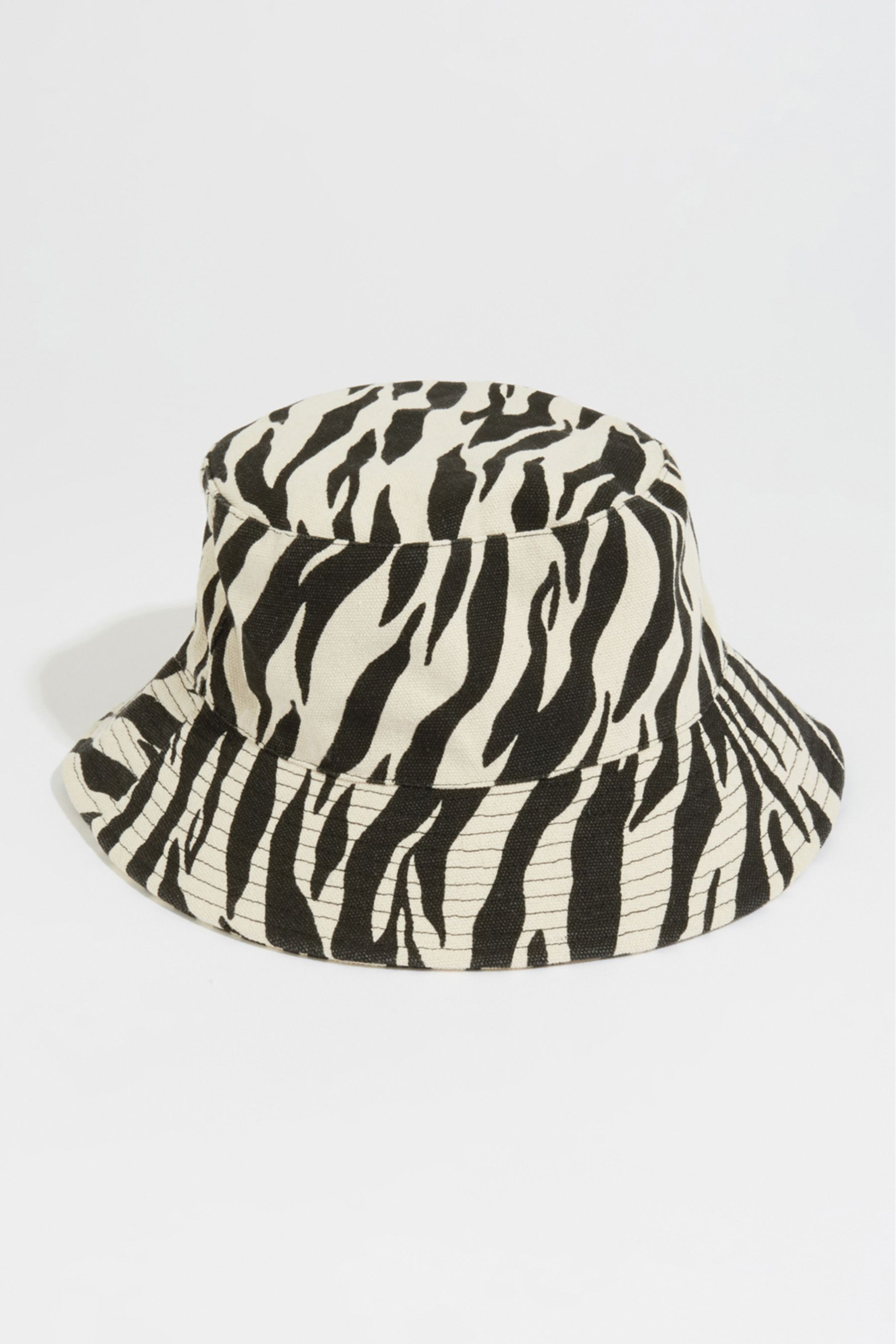 d83f3399b Womens Warehouse Animal Print Bucket Hat - Natural | accessories in ...