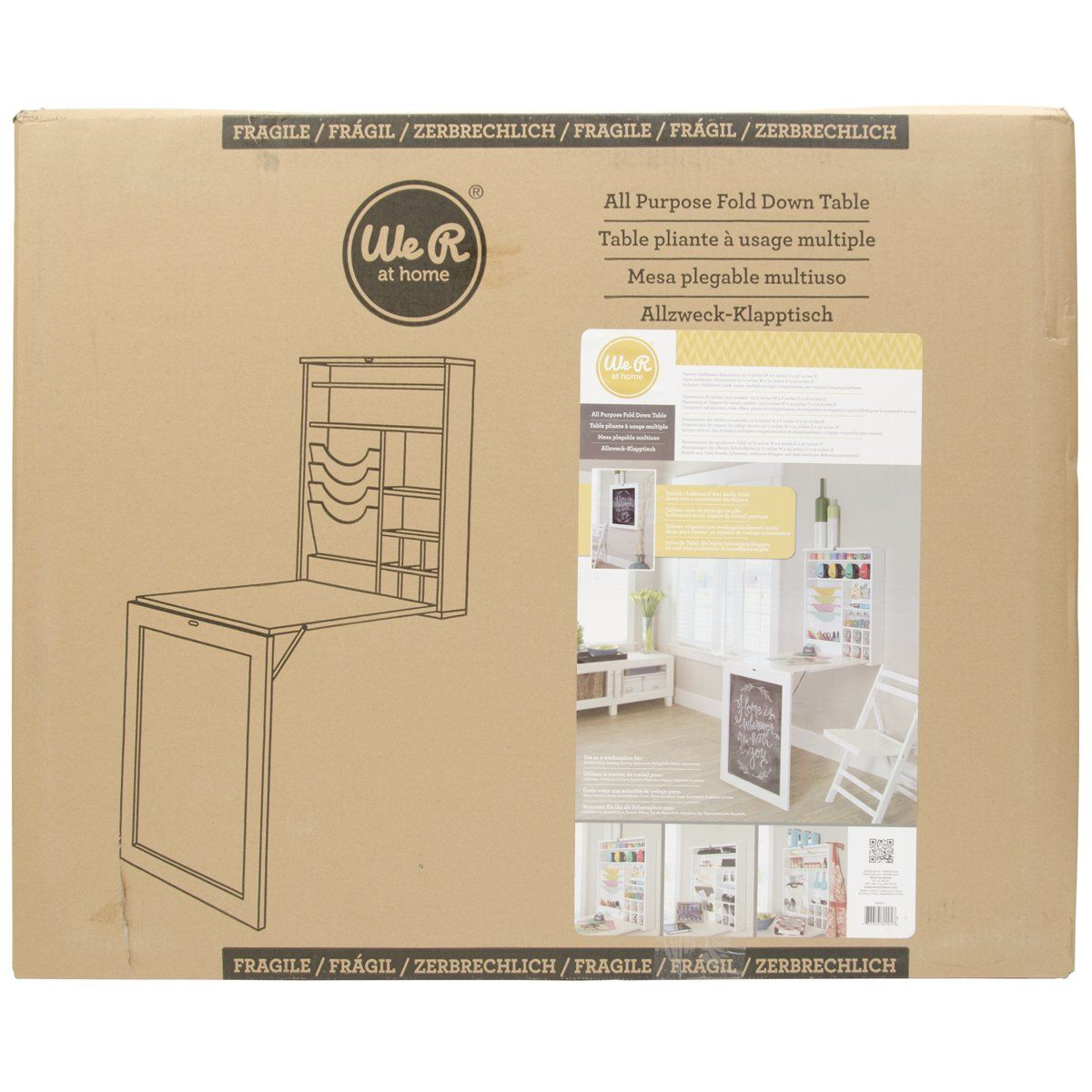 Amazon.com: All Purpose Fold Down Table: Arts, Crafts & Sewing | My ...