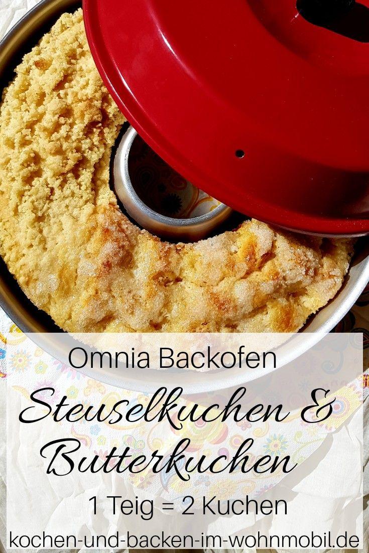 Photo of Kuchen backen im Omnia Backofen: Streusel-, Zucker- oder Butterkuchen › kochen-und-backen-im-wohnmobil.de