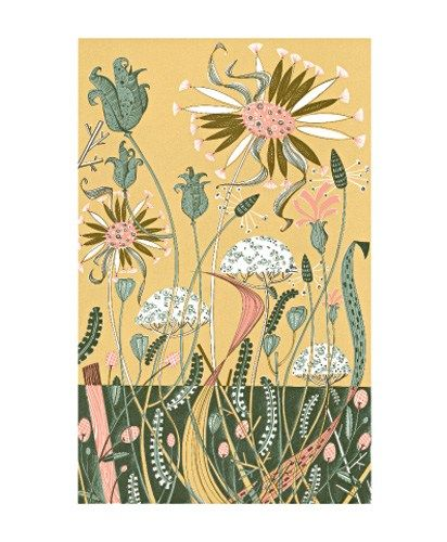 'Wild Garden II' by Angie Lewin (ala20)