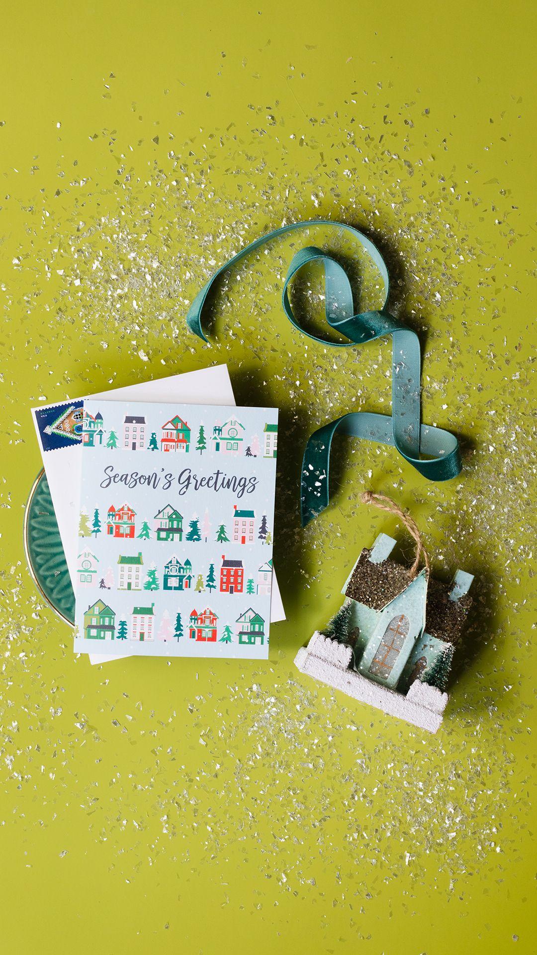 Holiday Houses Christmas Card