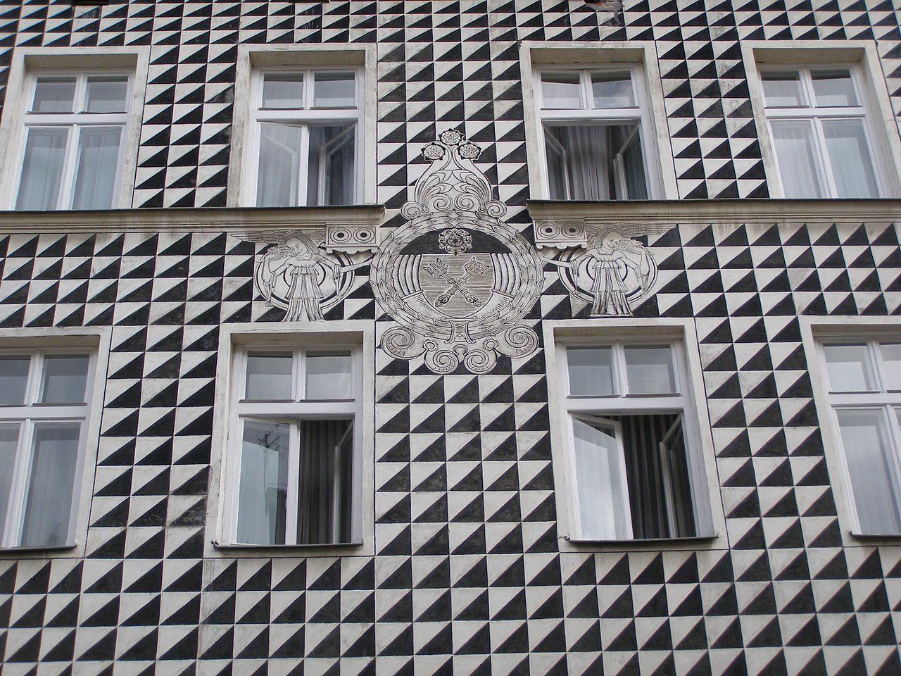 Krakow Florianska 47 Sgraffito Sgraffito Wikipedia The Free
