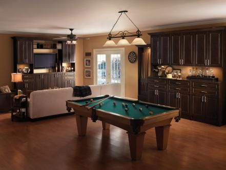 Media Room Design Ideas Pool Table Room Game Room Family Game