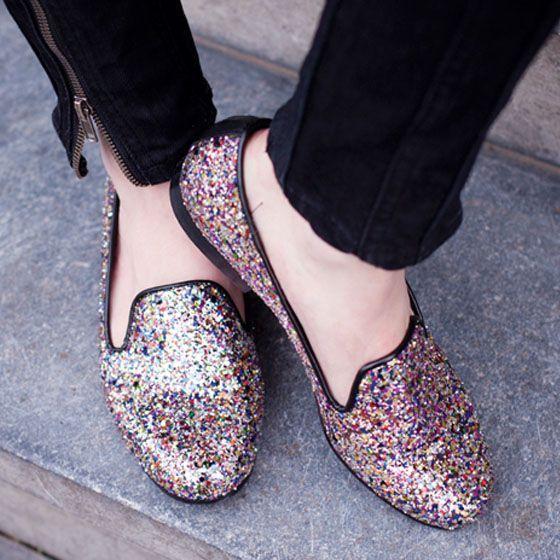 9739bda7ca Sapatos com glitter  modo de usar