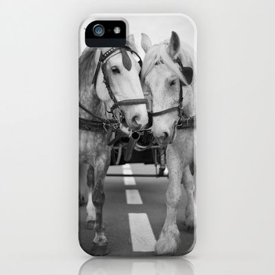 Horse Carriage iPhone & iPod Case