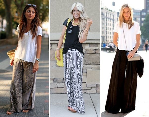how to wear the casual wide-leg pant trend // coco kelley | Cosas ...