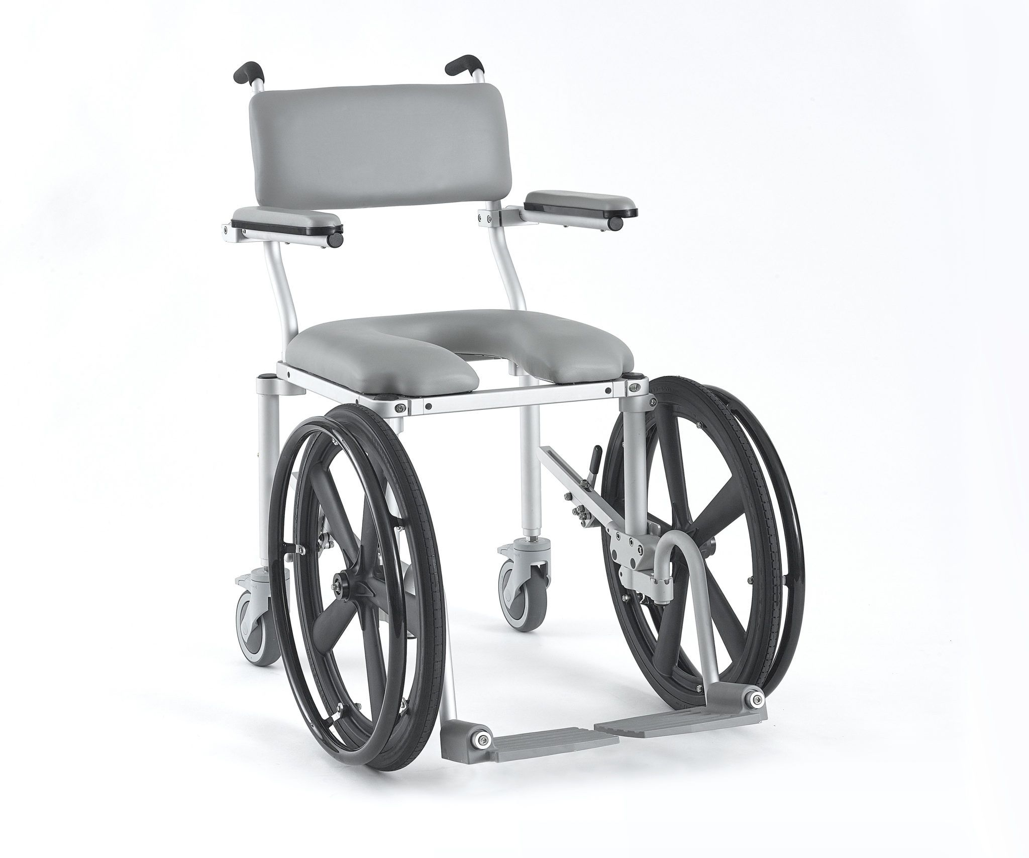 Mc4020rx Self Propelled Shower And Commode Chair Commode Chair Wheelchair Cushions Shower Wheelchair