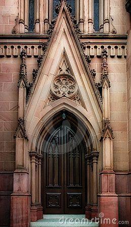 Gothic Doors | Gothic Door Royalty Free Stock Photos - Image: 858318 & Gothic Doors | Gothic Door Royalty Free Stock Photos - Image ... Pezcame.Com