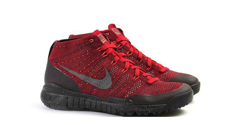 "size 40 eae4a 5ba1c Nike Flyknit Trainer Chukka SFB ""Gym Red"""