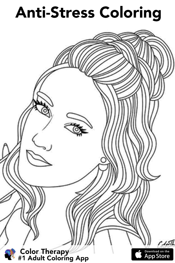 Join Millions Of Adults Who Love Coloring It S So Relaxing Pam A Color Therapy Outline Art Coloring Book Art