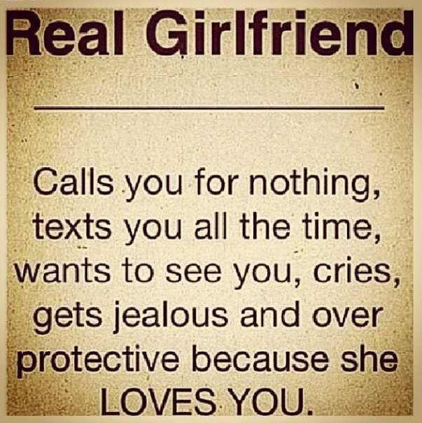A real girlfriend | #JustSayin' | Pinterest | Real ...