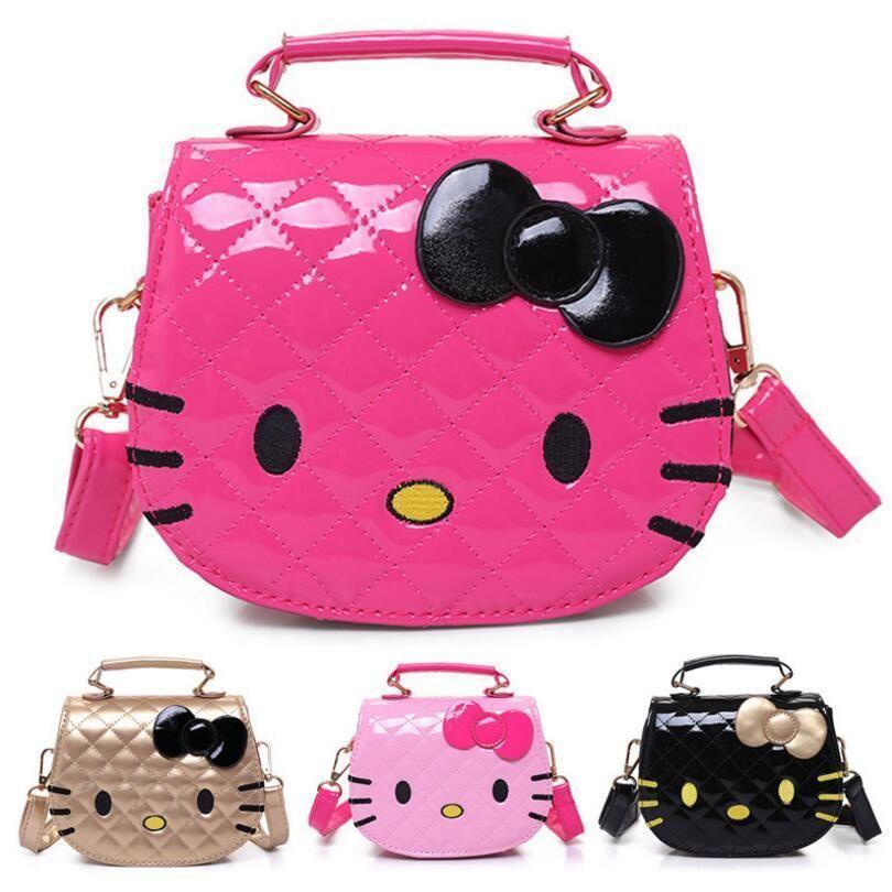 New Cute Mini Bag Children Hello Kitty Handbag Women Cartoon Fashion 5  Colors  Unbranded  ShoulderBag a8ac261c7810e