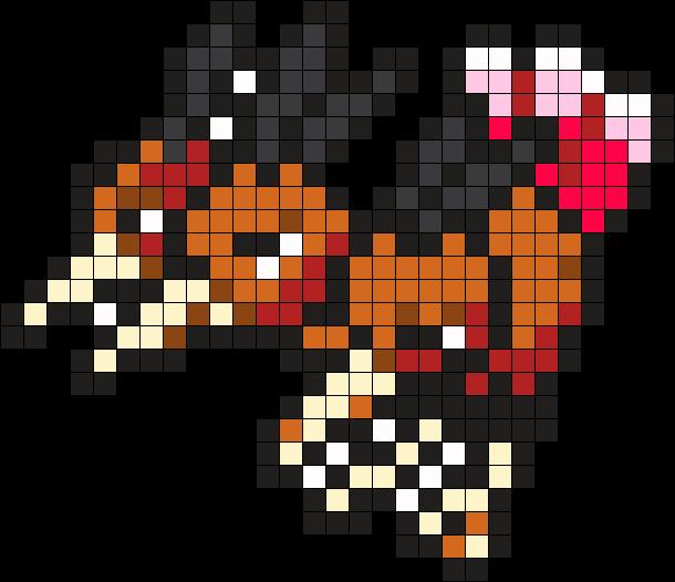 Dodrio Pokemon Bead Pattern Perler Bead Pattern Bead Sprite Pokemon Perle Dessin Pixel Dessins Simples