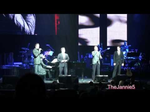 Canadian Tenors Because We Believe Hd David Foster Friends Concert Tour Chicago Concert The Fosters Great Videos