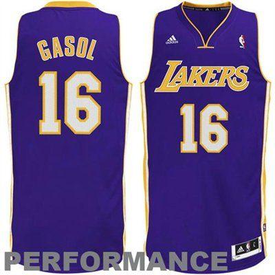 434c1c13e591 adidas Pau Gasol Los Angeles Lakers Performance Jersey