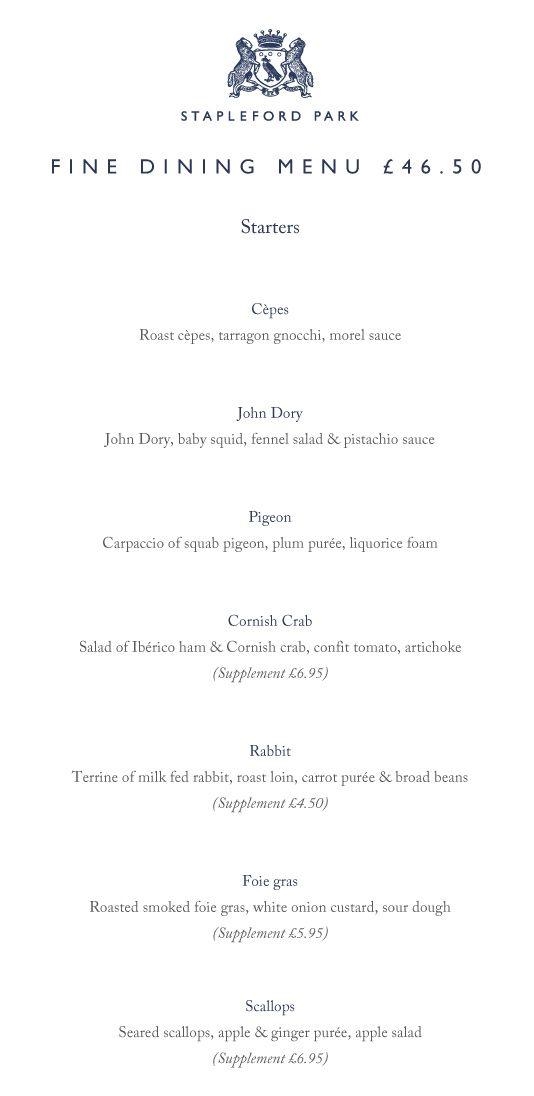 fine dining menu nosh l omnivore fine dining menu dining menu