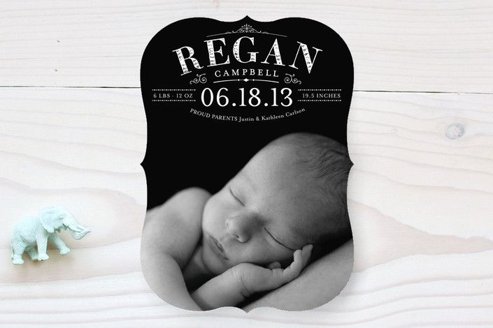 Precious Birth Announcements by Sarah Brown | Minted (lots more on this site)