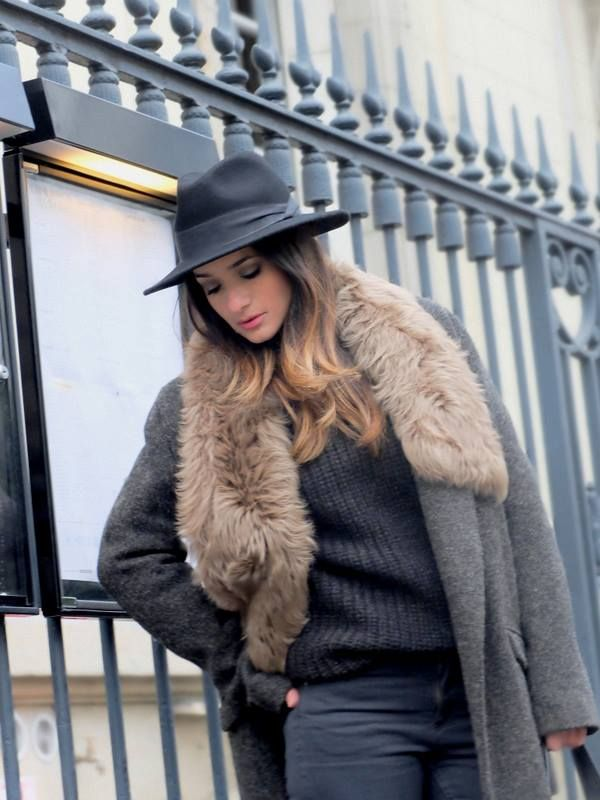 LA COOL & CHIC - Black hat style
