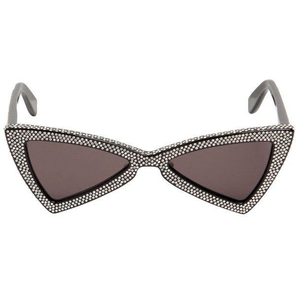 1fe89ce118 Γυαλιά Ηλίου · Yves Saint Laurent · Saint Laurent Women Sl207 Jerry  Sunglasses W  Crystals (€1.110) ❤ liked on