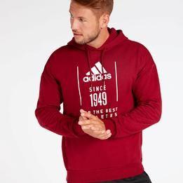 Sudadera adidas Roja Hombre   Adidas nike, Hoodies, Fashion