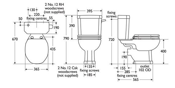 Dimensions product plaza cc 570 288 design for Bathroom size
