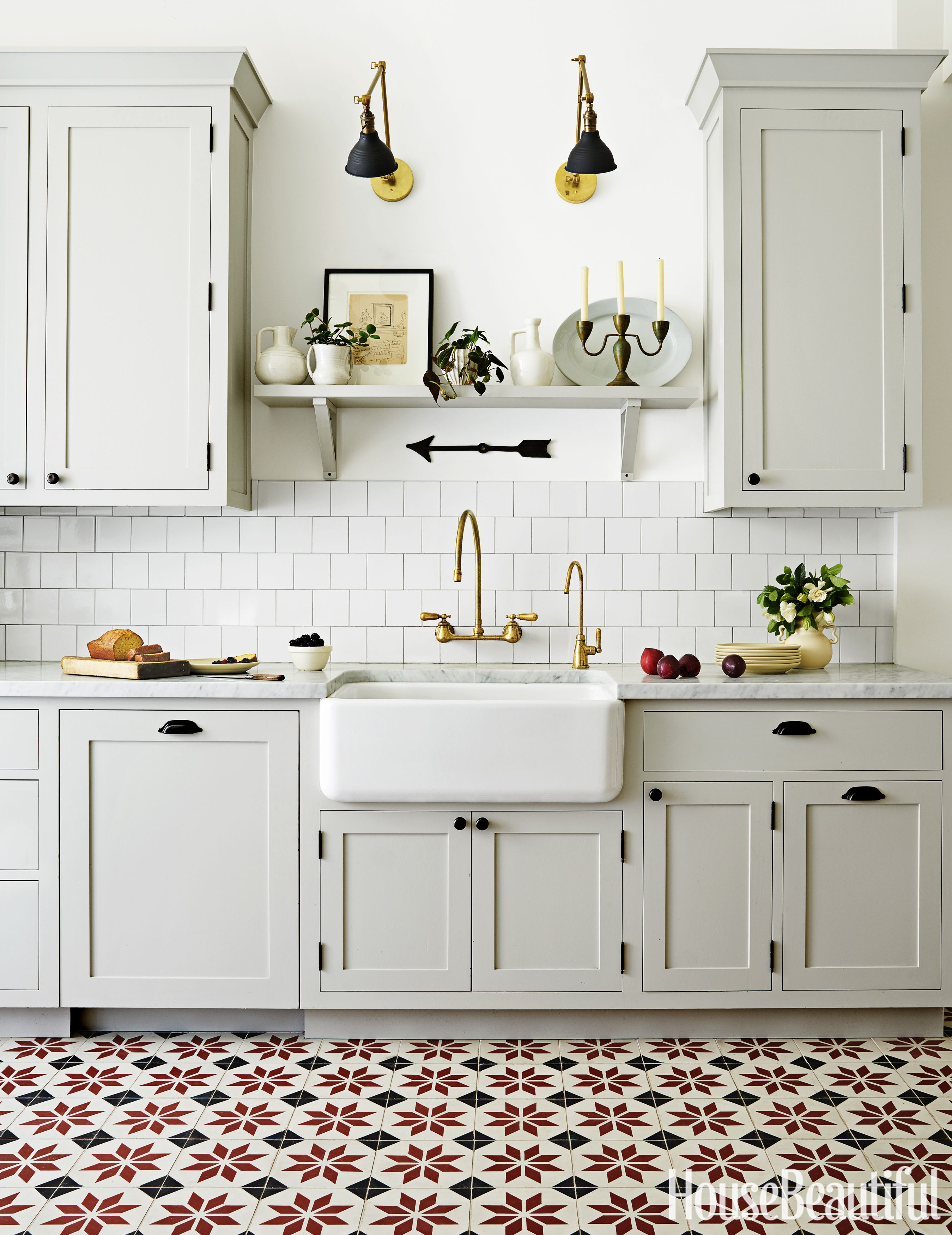 30 Small Kitchen Ideas That Maximize Style and Efficiency   Shelves on old world kitchen design ideas, old world home decor ideas, old world kitchen backsplash ideas,