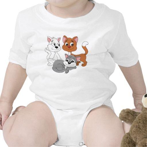 Cats cartoon  Infant Creeper