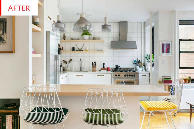 Before And After This Remodeled Scandi Style Ikea Kitchen Is