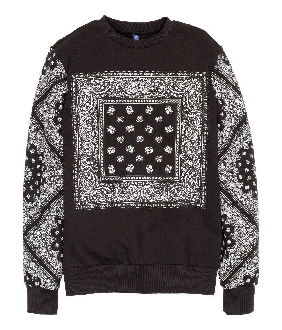 Trashed Sweatshirt H M Divided Guys Sweatshirts Ripped Shirts Fashion [ 1137 x 972 Pixel ]