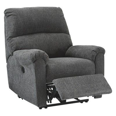 Super Mcteer Power Recliner Charcoal Gray Signature Design By Ibusinesslaw Wood Chair Design Ideas Ibusinesslaworg