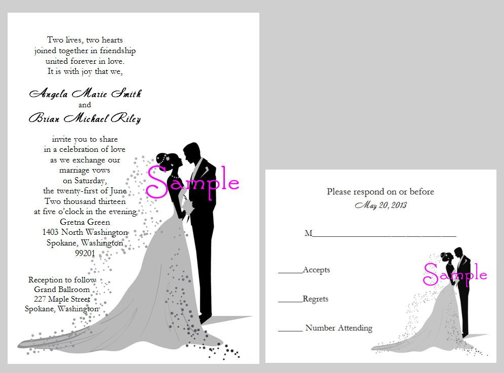 Bride groom invitation wording wedding gallery pinterest bride groom invitation wording filmwisefo Choice Image