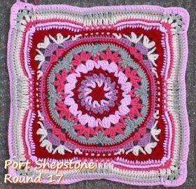 Zooty Owl's Crafty Blog: Seaside Winter Blanket: Square 6 Port Shepstone