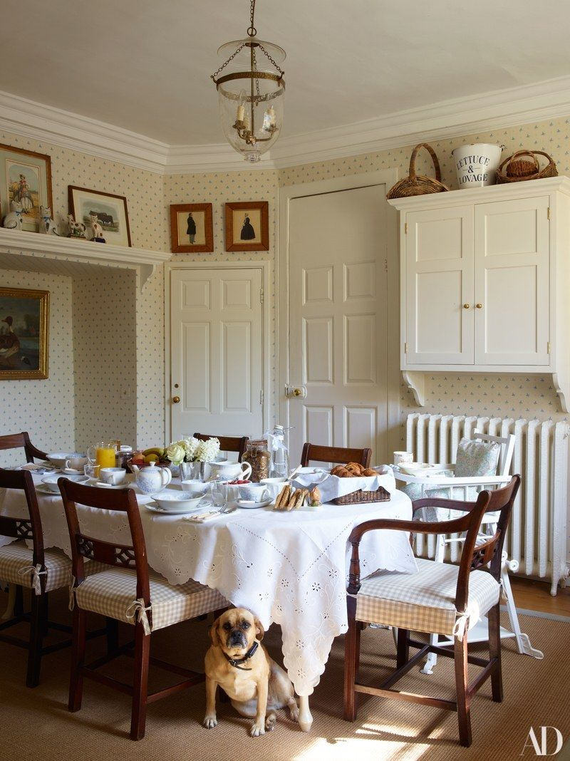 Alice In Wonderland Breakfast Room · Country KitchensCountry Dining  RoomsEnglish ...