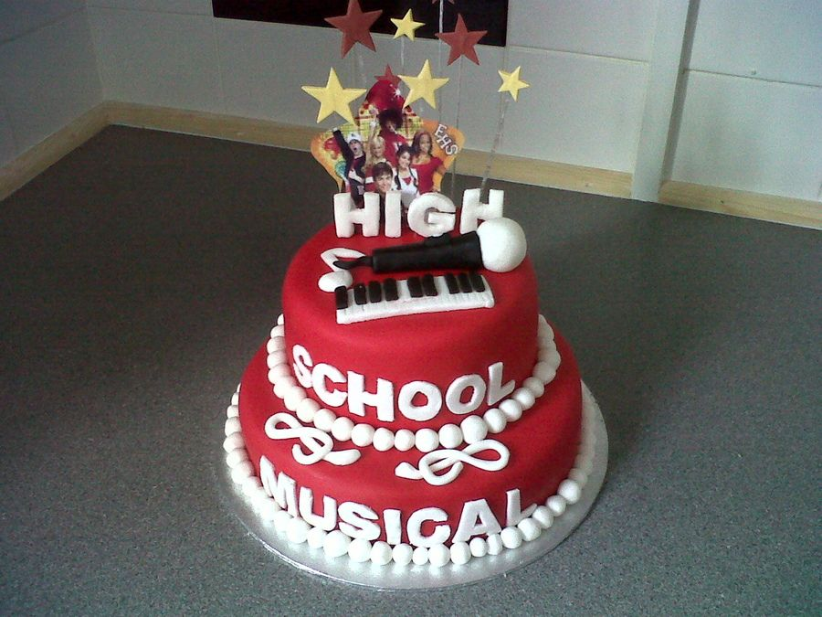 High School Musical Cake Google Search
