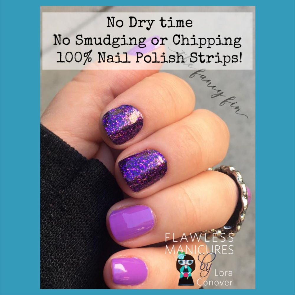 Color Street Is 100 Nail Polish Strips No Dry Time Smudging Or