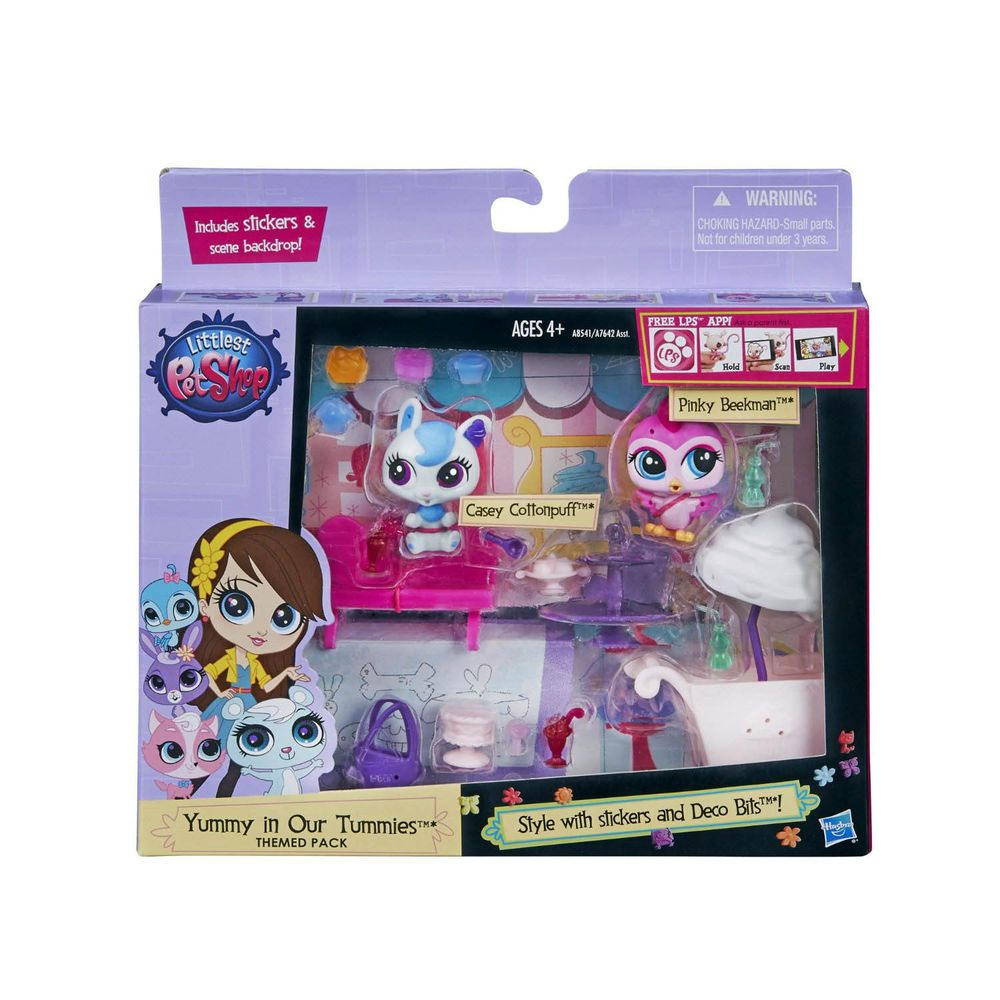 Littlest Pet Shop Yummy in Our Tummies Themed Pack Play