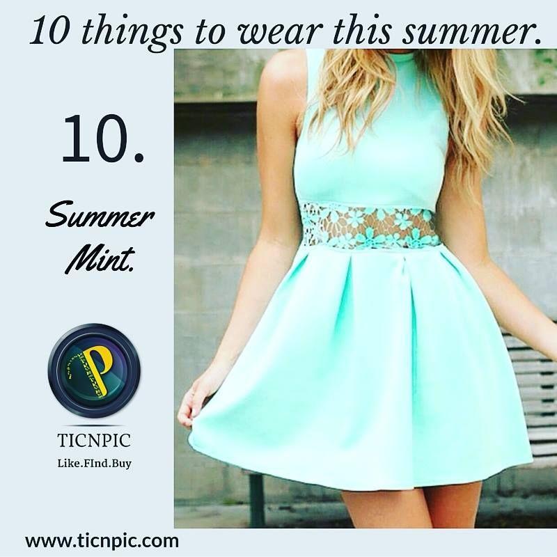 #10. Summer mint!! #ticnpic #fashion #fashionaddict #fashionable #style #stylegram #igers #fashionigers #fashiongram #mint #minty #summers