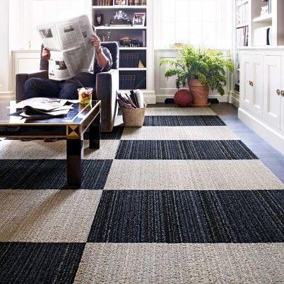 Checkerboard effect | Intriguing.Interiors | Pinterest | Rugs ... on ideal kitchen flooring, best flooring for kitchen, vinyl floor tiles kitchen,